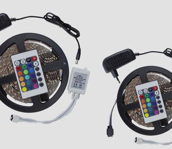 RGB LED самолеплива лента во боја