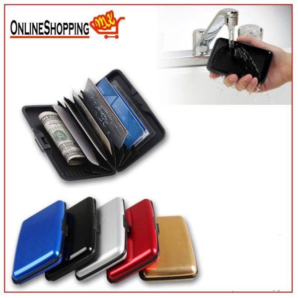 Сигурносен алуминиумски паричник