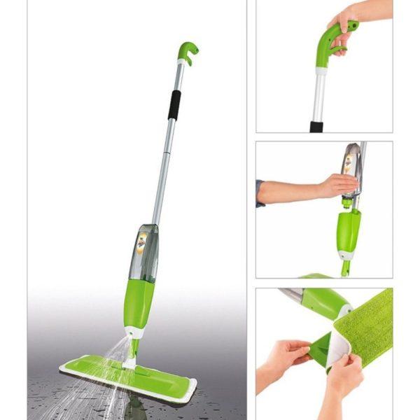 Пвеќенаменски џогер за суво и мокро чистење со распрскувач