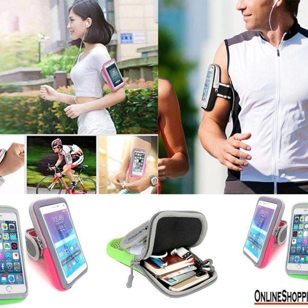 Футрола за на рака за мобилен телефон
