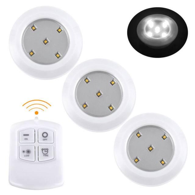 Безжични LED светилки со далечински управувач