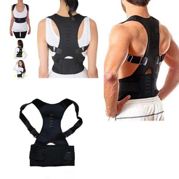 Магнетен елек за потпора на грбот