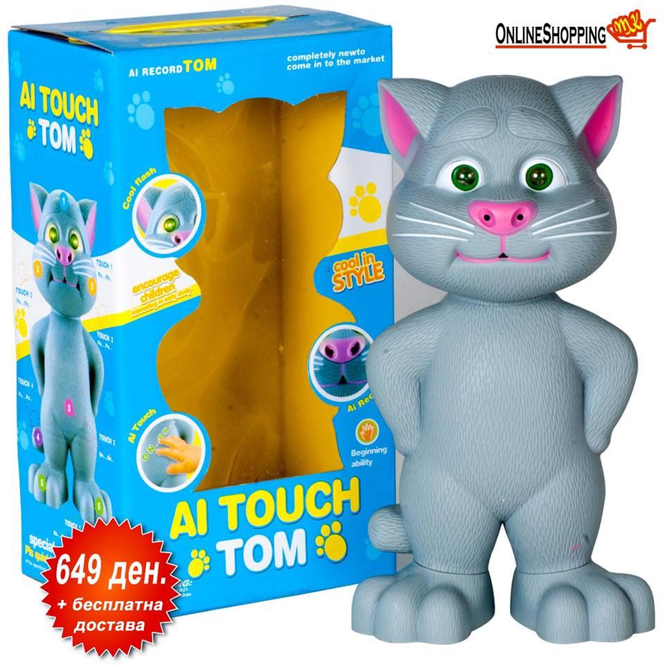 Голем Talking Tom - детска играчка