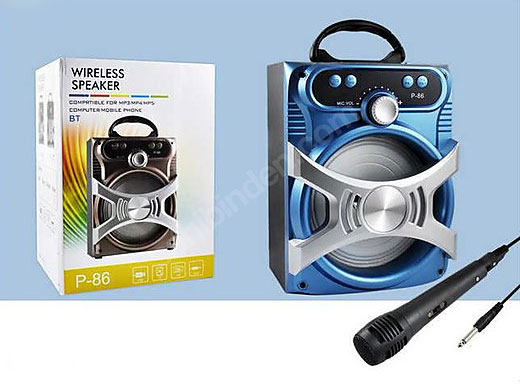 Bluetooth звучник + гратис микрофон